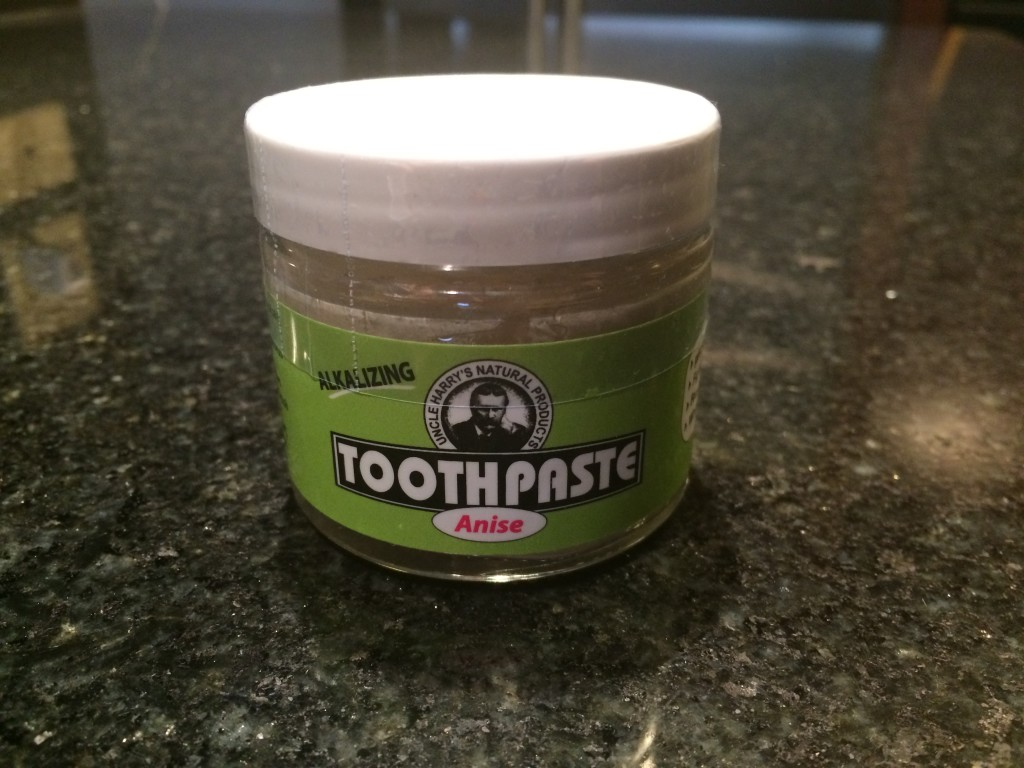 Uncle Harry's Natural Toothpaste - Anise