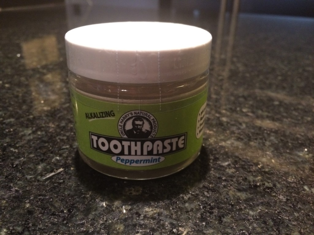 Uncle Harry Natural Toothpaste - Peppermint